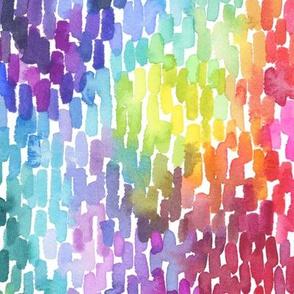 Watercolor Marks - Medium Scale