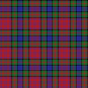 "Murray of Atholl red dress tartan, 6"""