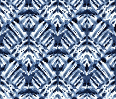 Watercolor Shibori