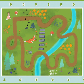 Forest playmat