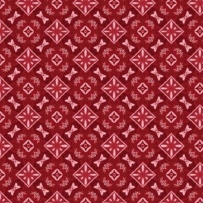 Quilting in Red Design No 15