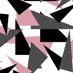 Ice Pink Geometric