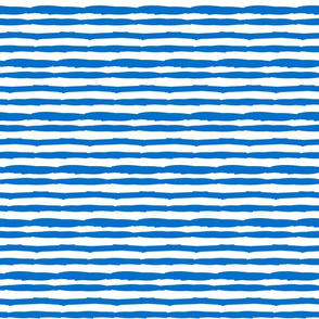 Little Paper Straws in Brilliant Blue Horizontal
