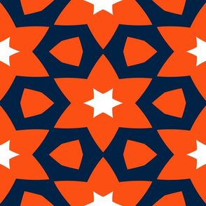 The Orange and the Navy: Double Stars with White