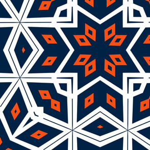 The Orange and the Navy: Intricacy