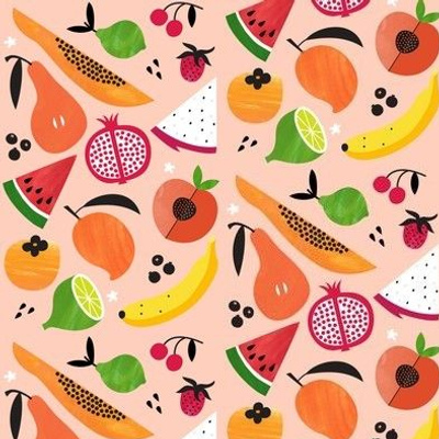 Papaya Lime Fruit Salad