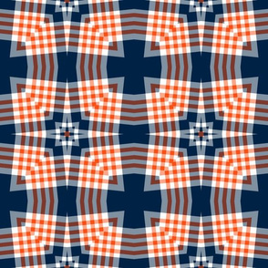 The Navy and the Orange: Checkered