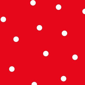 mixed polka dots lg reversed || canada day canadian july 1st