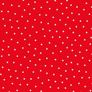 mixed polka dots sm reversed || canada day canadian july 1st