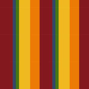 Fresh Fruit Palette Stripes