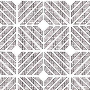 Squares // black on white