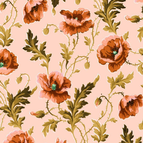 Poppies For Dorothy ~ Lauffer