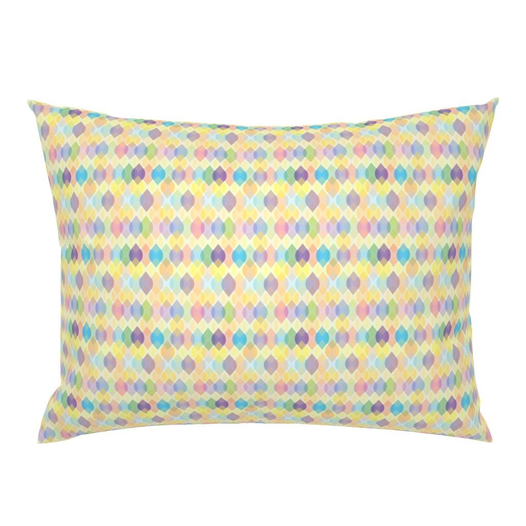Campine Pillow Sham featuring Dancing Lights Reflection by ArtfulFreddy by artfulfreddy