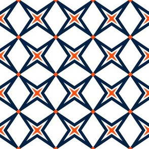 The Navy and the Orange: Four Points Fresh - SMALL