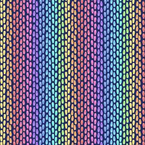 rainbow thongs