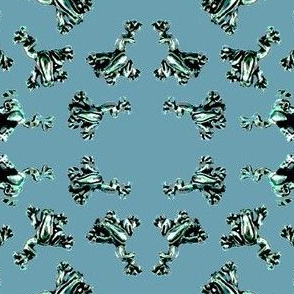teal_frogs