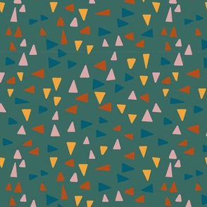 Abstract, geometric large scale triangle