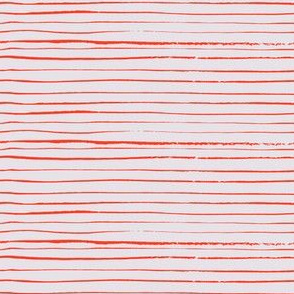 Fine red stripes
