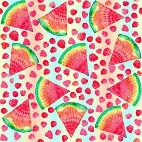 Tutti Frutti Ombre Stripe