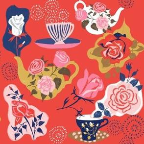 english tea + roses