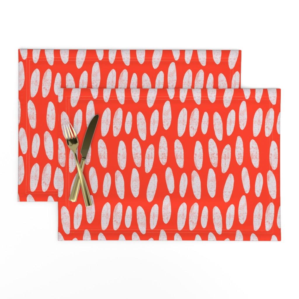 Lamona Cloth Placemats featuring pebbles by alexmichiardi