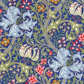 Golden Lily ~ Intense ~ The William Morris Collection ~ Medium
