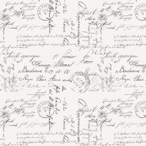 Letter Box Written: Dark