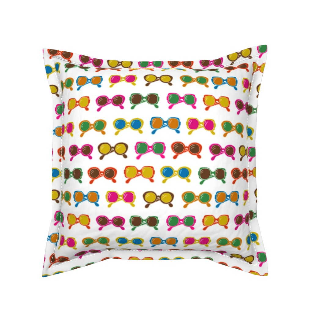 Serama Throw Pillow featuring bring your sunnies by whatever-works