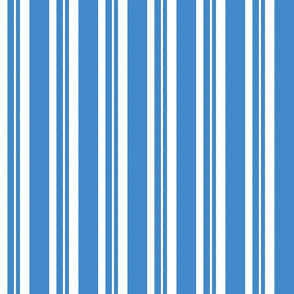 Dapper Vest Stripes Blue - Child