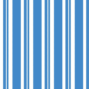 Dapper Vest Stripes Blue - Adult