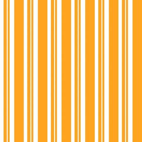 Dapper Vest Stripes Orange - Child
