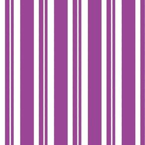 Dapper Vest Stripes Purple - Adult