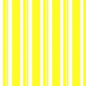 Dapper Vest Stripes Yellow - Adult