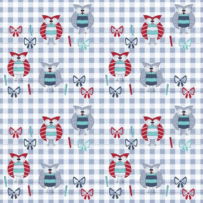 plaid vector seamless patterns, country style pattern
