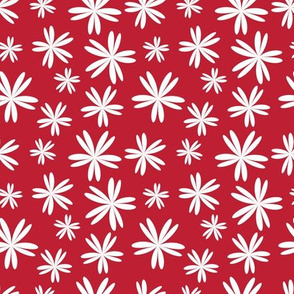 Floral vector seamless patterns, country style pattern