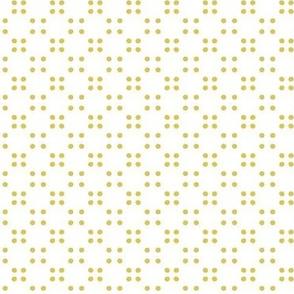 festival polka dot-yellow
