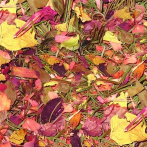 Rose Potpourri in Pink and Yellow