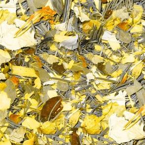 Rose Potpourri Yellow and White