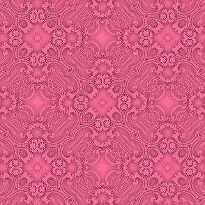 Fractal Lace, Dark Pink