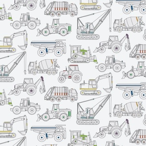 Construction Truck pattern