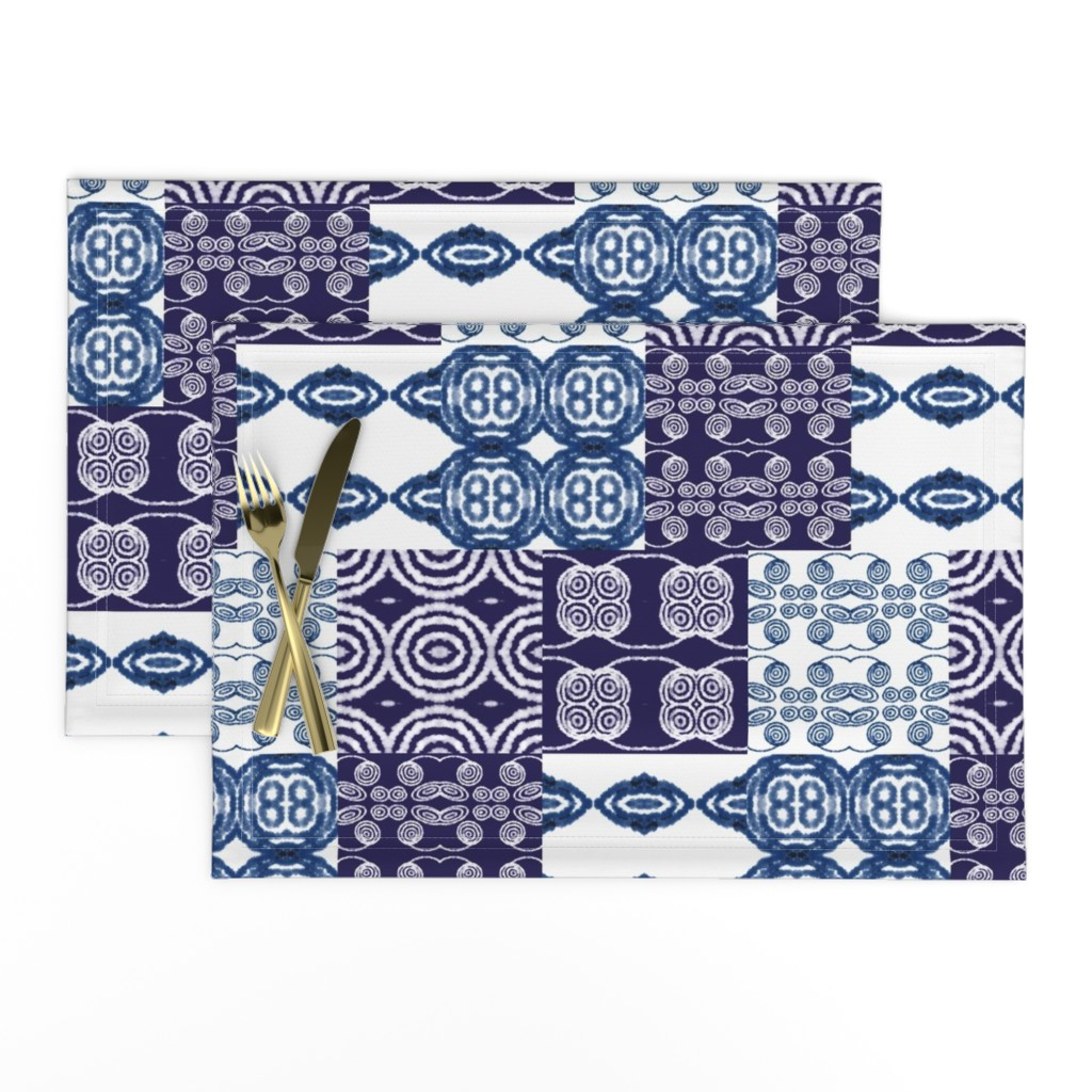 Lamona Cloth Placemats featuring Undecided by gargoylesentry