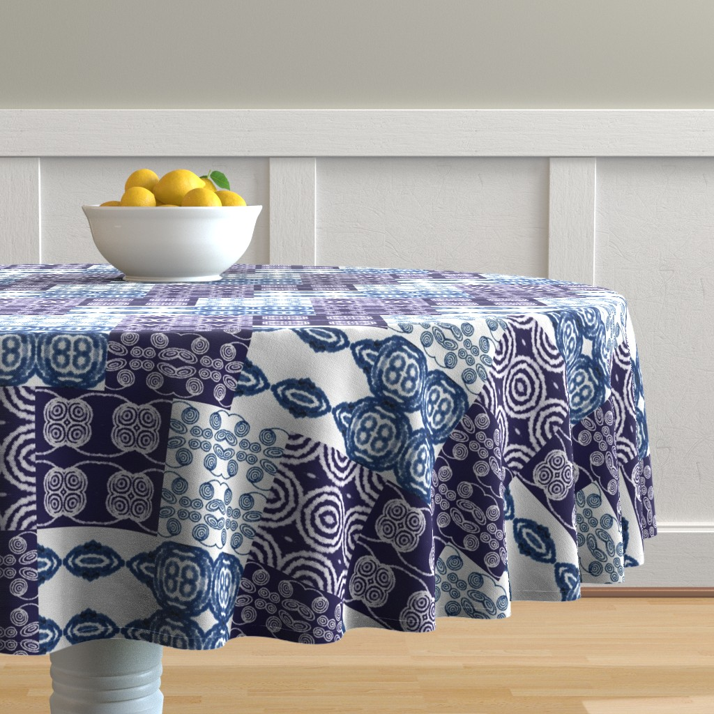 Malay Round Tablecloth featuring Undecided by gargoylesentry