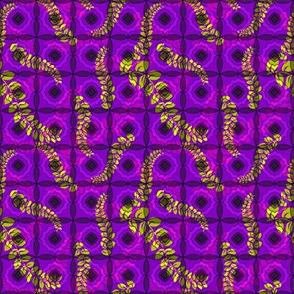 Vines on Purple