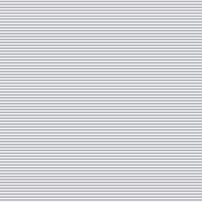 Doll Stripe Gray White Small