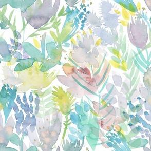 Toronto Island Floral - pastel