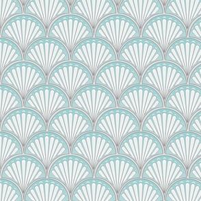 Art Deco Fan Pattern