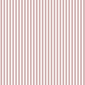 Farmhouse Stripe Small: Light Rose