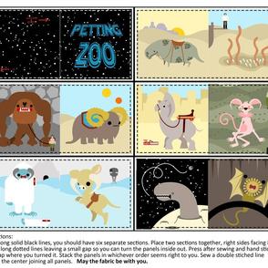 Petting Zoo Baby Book