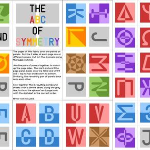00879937 © The ABC of Symmetry