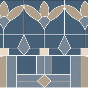 Art Deco Slate Beige